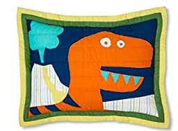 Circo Dinosaur Dino Friends High Quality Quilt (1 Sham Only)