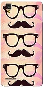 Fashionury Printed Back Case Cover For OPPO Digital F1 Selfie -Print31218