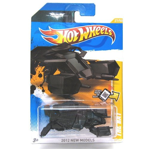 2012 RELEASE HOT WHEELS BATMAN THE DARK KNIGHT RISES NEW MODELS SERIES THE BAT DIE-CAST, BATMAN THE BAT TOY