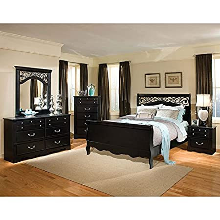 Madera Sleigh Bedroom Set Queen