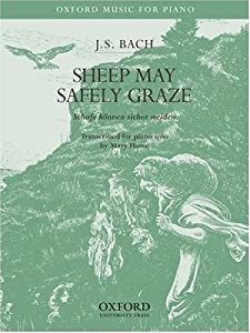 Sheep May Safely Graze Piano Solo Version by OUP USA