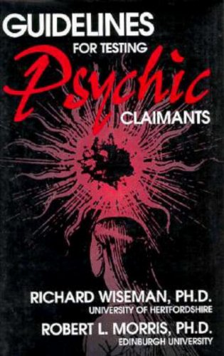 Guidelines for Testing Psychic Claimants PDF