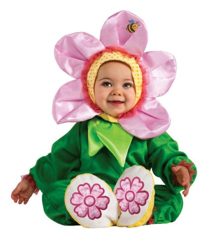 Pink Painsy Costume 6-12 months