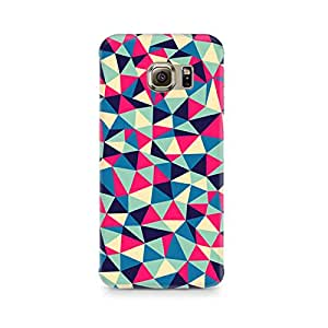 Ebby Colorful Triangles Premium Printed Case For Samsung S6 Edge G9250
