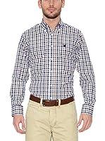 Polo Club Camisa Hombre Checks (Camel)
