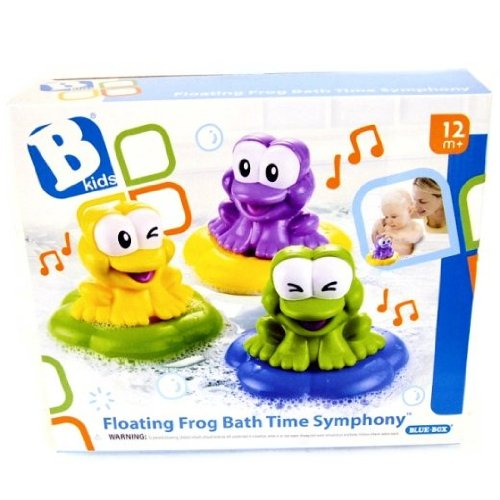Bkids Floating Frog Bath Time Symphony Bathtub