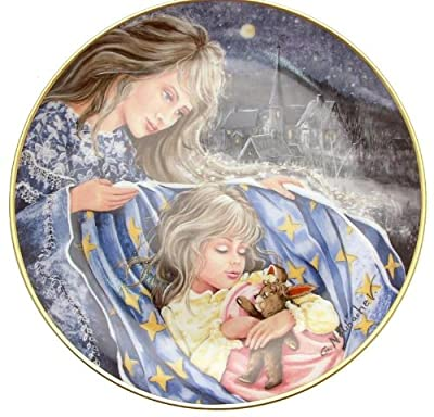 c1986 Kaiser Welsh Lullaby Gerda Neubacher Classic Lullabies of the World plate TN179