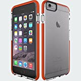 New OEM Verizon Tech21 Impactology Classic Check for Iphone 6 - Clear Orange