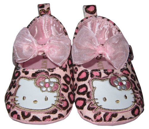 Infant Toddler Pink Hello Kitty Shoes - 6-9 Months