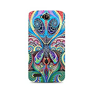 Ebby Psychedelic Alien Premium Printed Case For Huawei Honor Holly