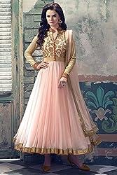 Divine Fab Women's Cotton Unstitched Dress Material (Divine Fab_6_Maroon_Free Size)