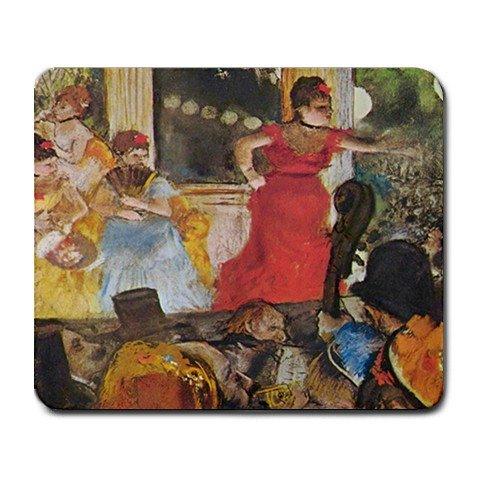 In Concert Café By Edgar Degas Mouse Pad