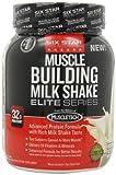 Six Star Musclebuilding Milkshake, Rich Vanilla Ice Cream, 2-Pound