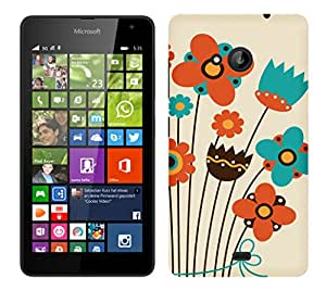 WOW Printed Designer Mobile Case Back Cover For Nokia Microsoft Lumia 535