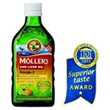 Moller's Fish Oil OMEGA-3 -FRUIT Flavour- Baby Children Adults from Mollers