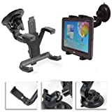 Navitech In Car Windscreen Suction cup Mount For The Motorola Xoom 2 8.2 Media Edition