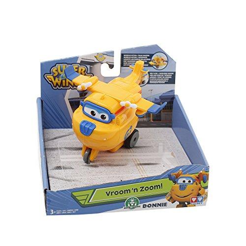 Giochi Preziosi - Super Wings Aereo Personaggio Donnie, Veicolo Giocattolo a Frizione