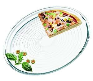 Amazon.com: Simax Glassware 6826 Pizza Baking Dish, 12.5