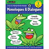Independent Fluency Practice Passages: Monologues and Dialogues Grade 1 with Audio CD