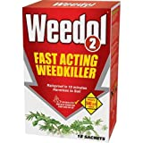Weedol 2 Fast Acting Weedkiller - 3 Sachets - 90 sq m