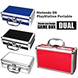 アタッシュケース型ゲームボックス/任天堂DS・PSP対応/ソフトも収納 (こちらの商品の内訳は『番号(WH)/【計10個】ホワイト』のみ)