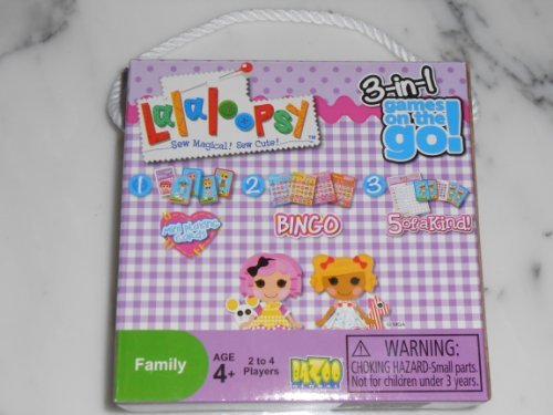 Lalaloopsy Sew Magical! Sew Cute! 3-in1 games on the go! - 1