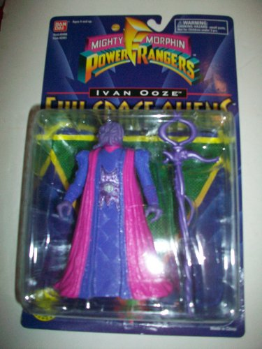 Buy Low Price Bandai Power Rangers the Movie MMPR 1995 Evil Space Alien Ivan Ooze MOSC MOC NEW 5 1/2″ Rare Action Figure (B005EDSWJY)