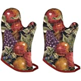 Now Designs Basic Oven Mitts, Nectar, Set of 2
