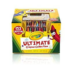 [Best price] Arts & Crafts - Crayola Ultimate Crayon Case, 152-Crayons - toys-games