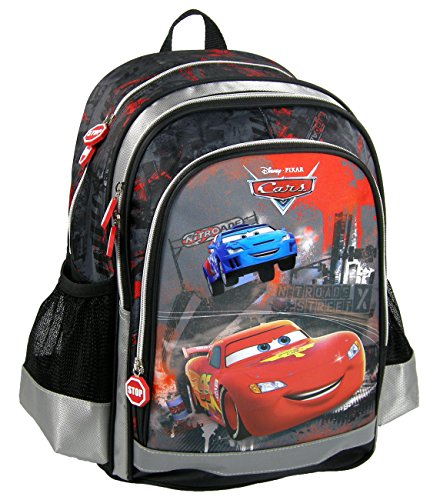 Maxi & Mini - Cars Flash McQueen grande zaino ha cartella Benji novità Disney Pixar