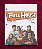 "FULL HOUSE TV SCRIPT W/ REPRODUCTION SIGNATURES SAGET, STAMOS, COULIER ""C3"""