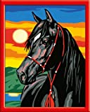 Ravensburger - 28233 - Loisir Créatif - Numéro d'art Moyen Spéciale Etalon - Noir
