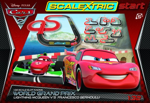 Scalextric Start C1273 Disney Cars 2 1:32 Scale Race Set