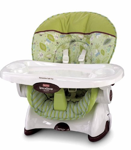 Baby's Store |   Fisher-Price Space Saver High Chair, Scatterbug :  space fisherprice fisherprice space saver high chair scatterbug scatterbug