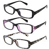 RONDE ブルーライトカット 眼鏡 パソコン用メガネ PCメガネ レディース ファッションメガネレディース キッズ 子供用 ケース付き 全3色