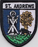 St. Andrews Fife Scotland Scottish Flag Embroidered Patch Badge