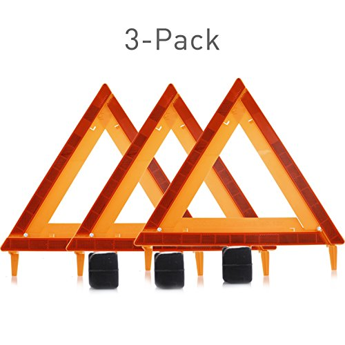 Capri Tools 90367 Emergency Safety Warning Triangle