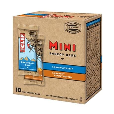Clif Bar Mini Energy Bar Variety Pack - Box of 10
