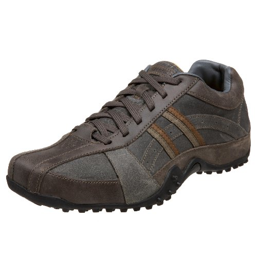 Skechers Mens Grey Lace Up  9.5 UK