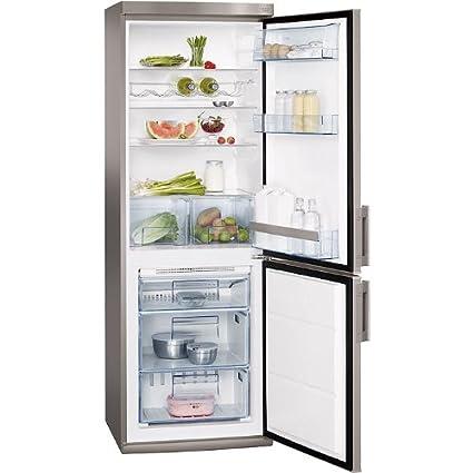 AEG 925 033 455 Réfrigérateur 223 L A+ Argent, Argent
