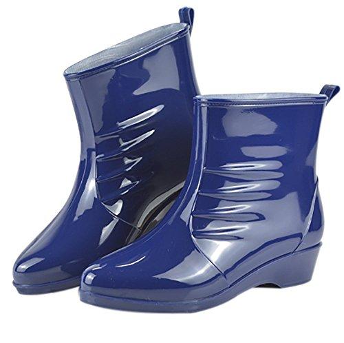 veste-impermeable-en-caoutchouc-jelly-bottes-de-pluie-boucle-cheville-haute-pluie-chaussures-femme-b