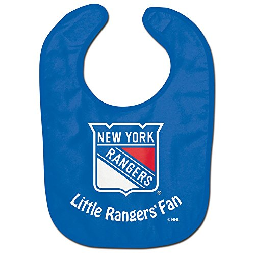 New York Rangers Little Fan All Pro Baby Bib (New York Rangers For Baby compare prices)