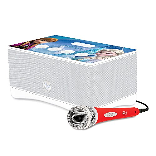 Read About Frozen Karaoke Boombox Player Machine Bundle for Kids