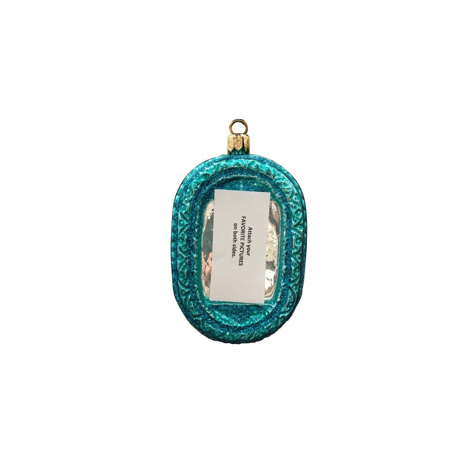 Ornaments to Remember PICTURE FRAME Christmas Ornament (Oval)