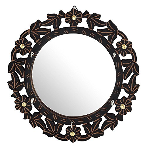 Key Holder with Mirror - Multiple Use Best Gift Beautiful Home Decor 11 inch