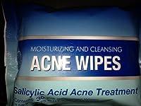 Moisturizing & Cleansing ACNE Wipes Premoistened Salicyclic Acid Acne Treatment Wipes, 30 wipes