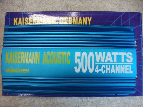 Kaisermann Germany High Performance Power 4-Kanal