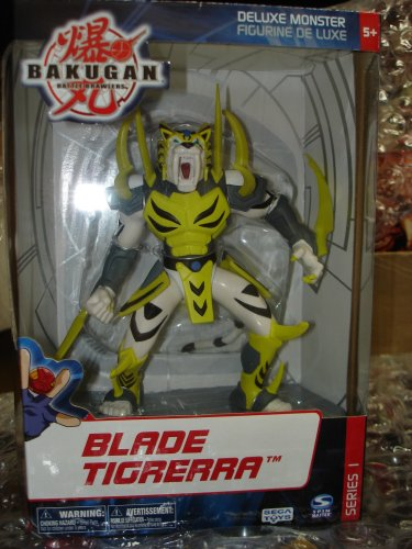 Picture of Spin Master Bakugan Battle Brawlers Blade Deluxe Tigerra Figure (B001L5DOP6) (Spin Master Action Figures)