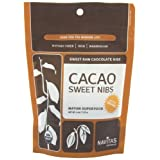 Navitas Naturals Organic Raw Cacao Nibs Sweetened, 4-Ounce Pouches