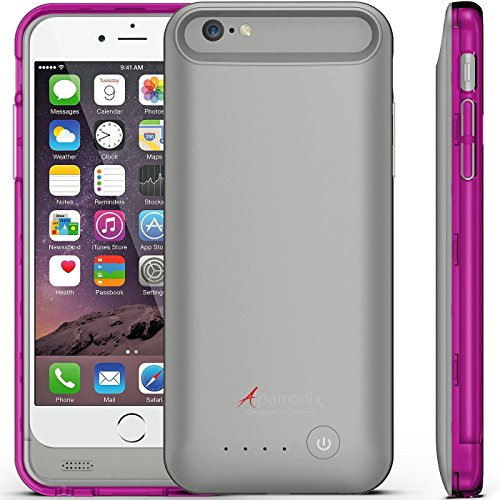 Iphone 6 Battery Case, Alpatronix Bx140 Ultra-Slim Protective Extended Iphone 6 Battery Charging Case (4.7) With Removable / Rechargeable Power Cover [Fits All Versions Of The Apple Iphone 6 / 3100Mah Battery Pack / Full Ios 8 Compatible Support / No Sign